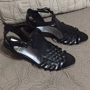 NWT Johnston & Murphy Wedge Sandals